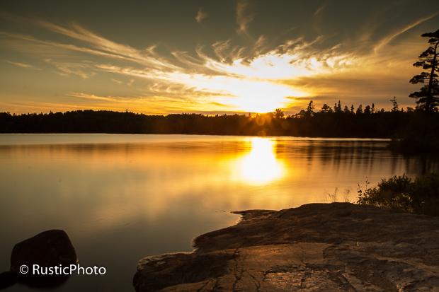 Esther Lake Sunset