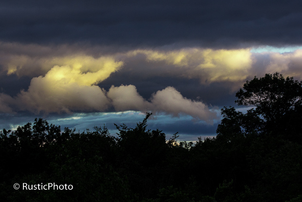 Drama in the clouds