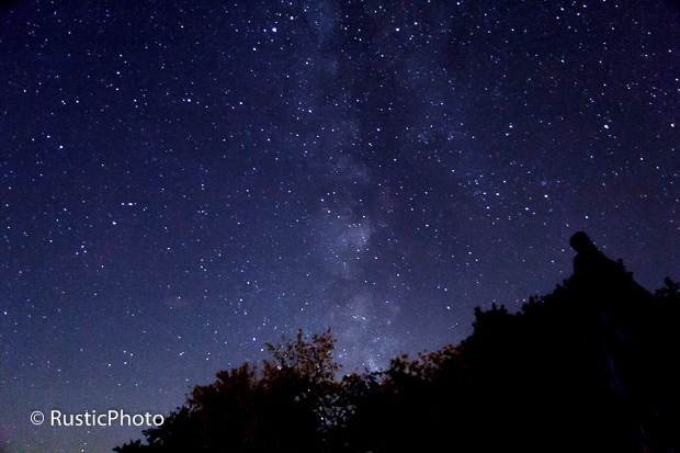 Milky Way from the deck