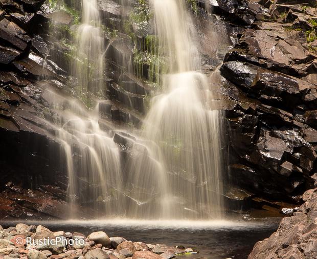 The Bottom of Rosebush Falls