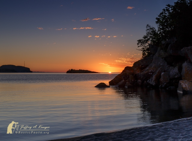 Silver Bay Sunrise